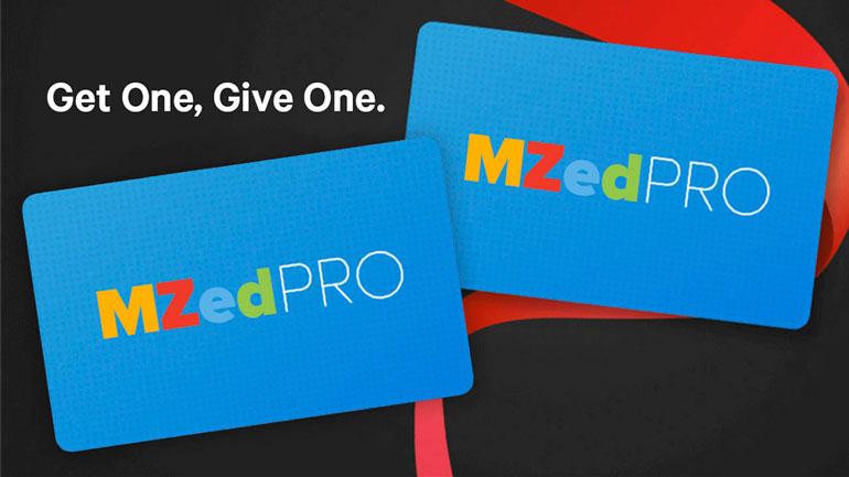 MZed get one give one membership offer